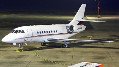 A picture of CSDLB - Dassault Falcon 2000EX - NetJets - © Christian Weber