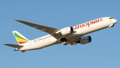 A picture of ETAXL - Boeing 7879 Dreamliner - Ethiopian Airlines - © Laszlo Fekete