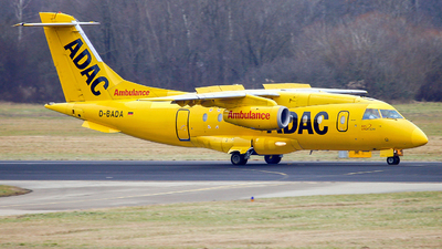 A picture of DBADA - Dornier 328310 JET - AeroDienst - © Manfred Franke