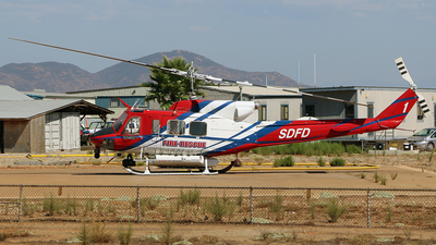 N800DM - Bell 212 - United States - San Diego Fire Department (SDFD)
