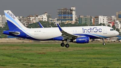 VT-IFK - Airbus A320-232 - IndiGo Airlines