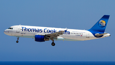 G-SUEW - Airbus A320-214 - Thomas Cook Airlines