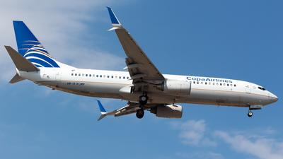 A picture of HP1717CMP - Boeing 7378V3 - Copa Airlines - © Antonio Velasco (MAS Aviation Press)