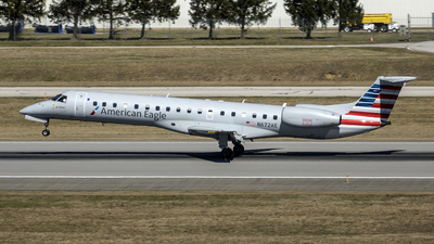 A picture of N672AE - Embraer ERJ145LR - American Airlines - © Yan777