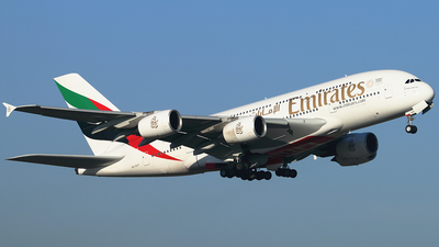 A6-EUY - Airbus A380-842 - Emirates