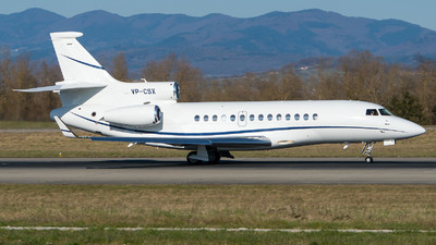 VP-CSX - Dassault Falcon 7X - Private