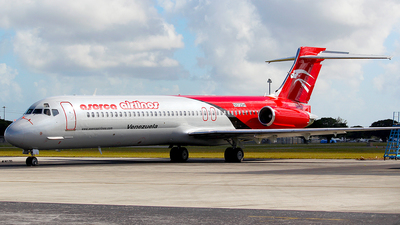 N572SH - McDonnell Douglas MD-87 - Aserca Airlines
