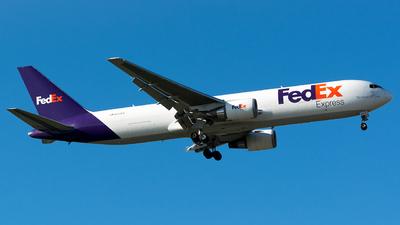 A picture of N131FE - Boeing 7673S2F(ER) - FedEx - © John Newsome