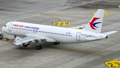 A picture of B30ET - Airbus A320251N - China Eastern Airlines - © Ohara Mari