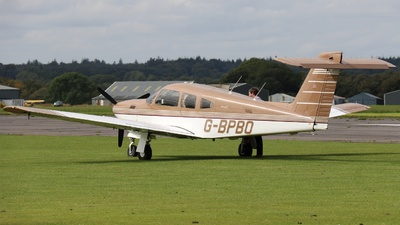 G-BPBO - Piper PA-28RT-201T Turbo Arrow IV - Private