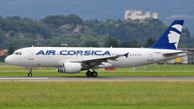F-HBSA - Airbus A320-216 - Air Corsica