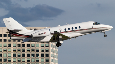 N676QS - Cessna Citation Latitude - NetJets Aviation
