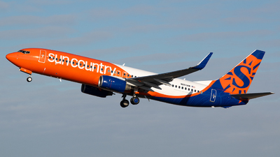 N860AM - Boeing 737-86N - Sun Country Airlines