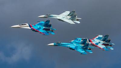 RF-92202 - Sukhoi Su-27UB Flanker C - Russia - Air Force