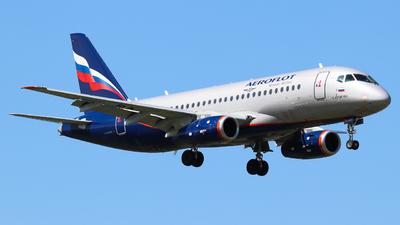 RA-89104 - Sukhoi Superjet 100-95B - Aeroflot