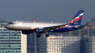 A picture of VPBET - Airbus A320214 - Aeroflot - © Igor Dvurekov