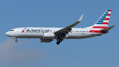 A picture of N358PW - Boeing 737823 - American Airlines - © Yixin Chen