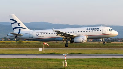 A picture of SXDVU - Airbus A320232 - Aegean Airlines - © Boyko Valchev