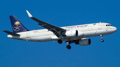 A picture of HZAS57 - Airbus A320214 - Saudia - © Deniz Can Biroglu