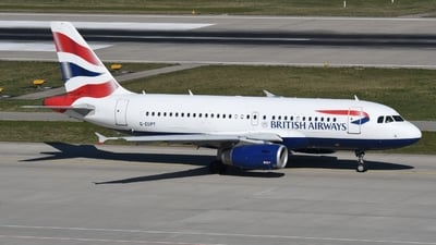 A picture of GEUPT - Airbus A319131 - British Airways - © Sven Stephan