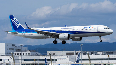 A picture of JA141A - Airbus A321272N - All Nippon Airways - © Yukio023