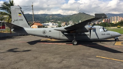 EJC-1115 - Rockwell 690 Turbo Commander - Colombia - Army