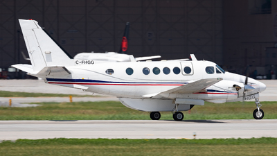 C-FHGG - Beechcraft A100 King Air - Propair