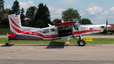 A picture of HBFLI - Pilatus PC6/B2H4 Turbo Porter - [893] - © Alexandre Fazan
