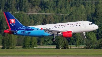 OM-BYA - Airbus A319-115X(CJ) - Slovakia - Government Flying Service