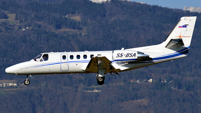 S5-BSA - Cessna 550B Citation Bravo - Sky X Airways