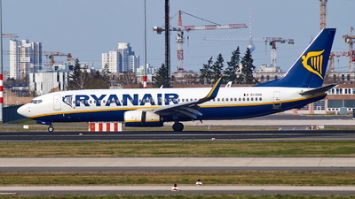 A picture of EIDHG - Boeing 7378AS - Ryanair - © JakkoFly