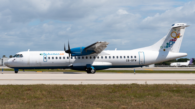 A picture of C6BFW - ATR 72600 - Bahamasair - © Evan Dougherty