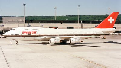 HB-IGC - Boeing 747-357(M) - Swissair