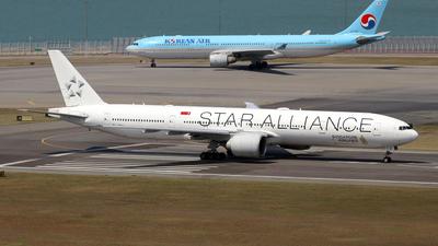 9V-SWI - Boeing 777-312ER - Singapore Airlines