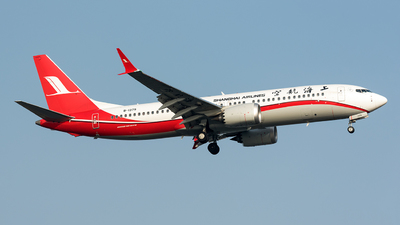 B-1379 - Boeing 737-8 MAX - Shanghai Airlines