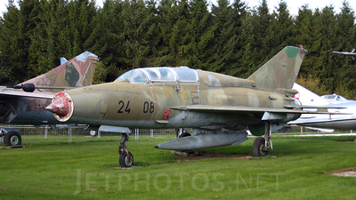24-08 - Mikoyan-Gurevich MiG-21US Mongol B - Germany - Air Force