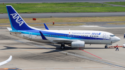 A picture of JA05AN - Boeing 737781 - All Nippon Airways - © shinya