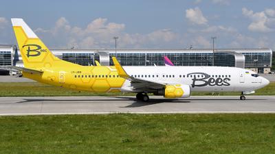 UR-UBB - Boeing 737-8HX - Bees Airline