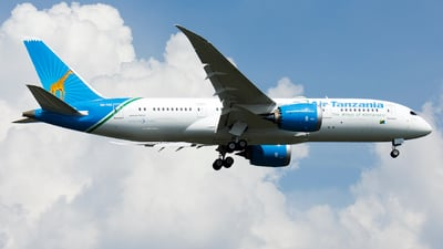A picture of 5HTCG - Boeing 7878 Dreamliner - Air Tanzania - © Traveller Wen