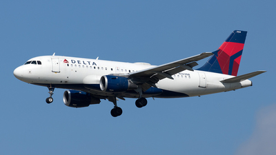 A picture of N369NB - Airbus A319114 - Delta Air Lines - © Yixin Chen
