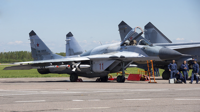 RF-92931 - Mikoyan-Gurevich MiG-29SMT Fulcrum - Russia - Air Force