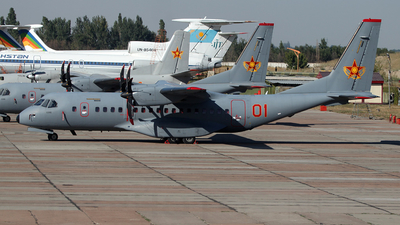 01-RED - CASA C-295M - Kazakhstan - Air Force