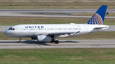 A picture of N835UA - Airbus A319131 - United Airlines - © Felipe García