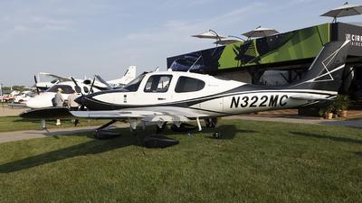 N322MC - Cirrus SR22T-GTS G6 Arrivee - Cirrus Design Corporation