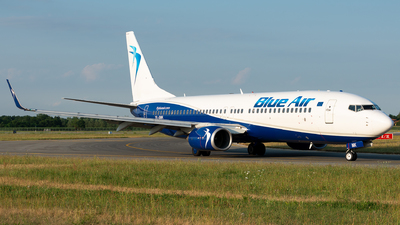 YR-BMK - Boeing 737-82R - Blue Air