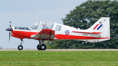G-CBEF - Scottish Aviation Bulldog T.1 - Private