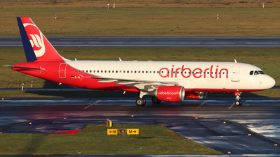 D-ABZI - Airbus A320-216 - Air Berlin
