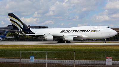 N400SA - Boeing 747-412(BDSF) - Southern Air