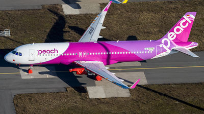 D-AVVW - Airbus A320-251N - Peach Aviation
