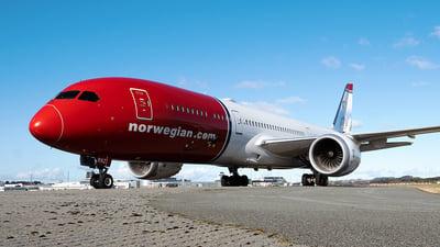 A picture of SERXZ - Boeing 7879 Dreamliner - Norwegian - © Stian Haabeth